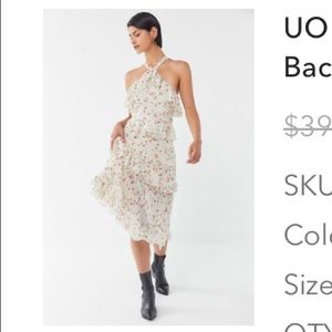 Urban outfitters floral print dress